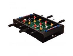 Mini stolný futbal KICKER pre 2 osoby čierny