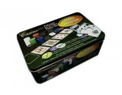 Poker set 200ks v plechovom boxe