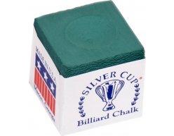 Biliardová krieda na tágo Silver Cup zelená 144ks