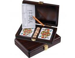 Set kariet Philos Card v drevenom boxe