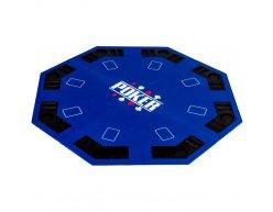 Poker podložka GAMEBOARD skladacia modrá
