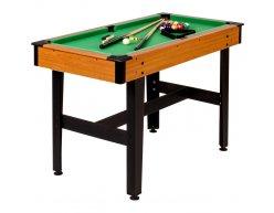 Detský biliardový stôl PLAYPOOL 122x61 WOOD