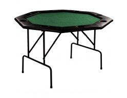 Skladací pokrový stôl OCTAGON 8 zelený