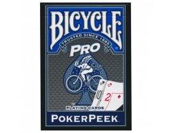 Karty Bicycle Poker Peek Pro modré