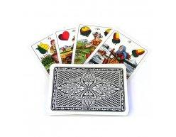 Plastové hracie karty Cartamundi 32+4