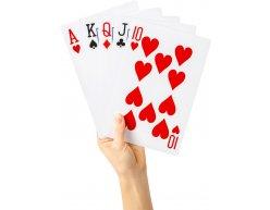 XL MEGA hracie karty 21x14cm