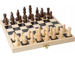 Drevený šach LEGLER 26x26cm