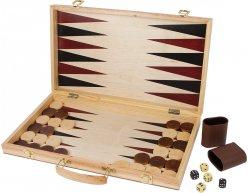 Sada hier Šach a Backgammon v kufríku 52x45cm