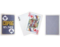 Pokrové karty COPAG PKJ REGULAR 100% plastové modré