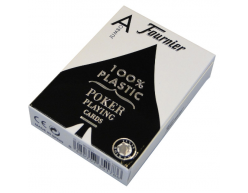 Pokrové karty Fournier Jumbo 100% plastové modré