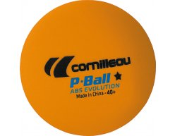 Cornilleau loptička na stolný tenis P-ball orange 1ks