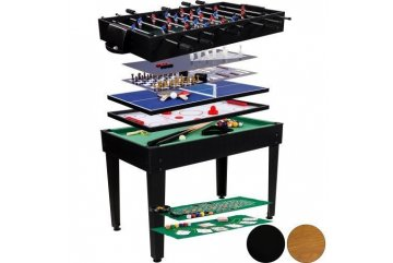 Multifunkčný stôl FUNGAME čierny