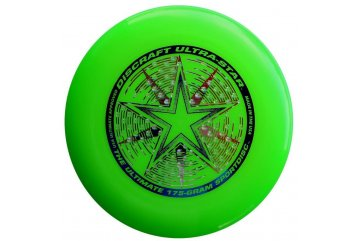 Frisbee Discraft Ultra Star Lime