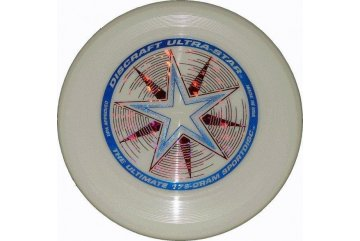 Frisbee Discraft Ultra Star Fosforová