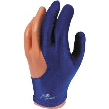 Rukavica na biliard Laperti Glove M modrá