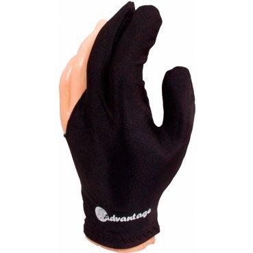 Biliardová rukavica Advantage čierna L