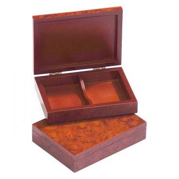 Drevený box na karty Philos 15.3x11.2cm