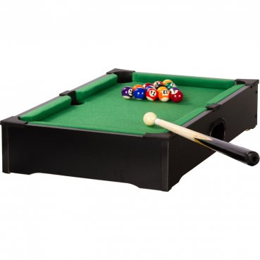 Mini biliard s príslušenstvom KID pool Black