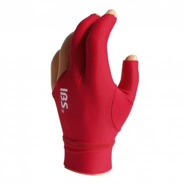 IBS biliardová rukavica Pro červená univerzálna