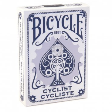 Karty Bicycle Cyclist modré