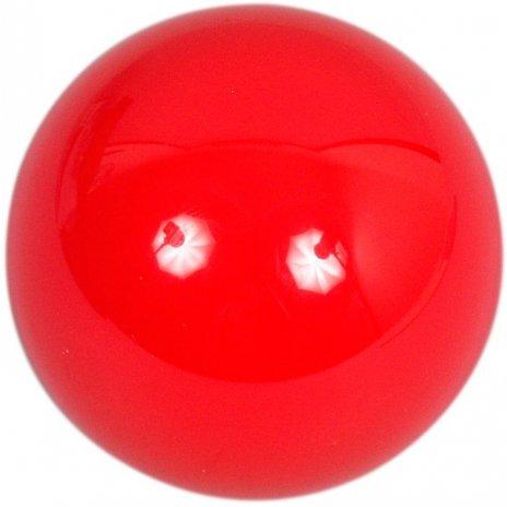 Samostatná guľa Aramith na snooker 52.4mm červená