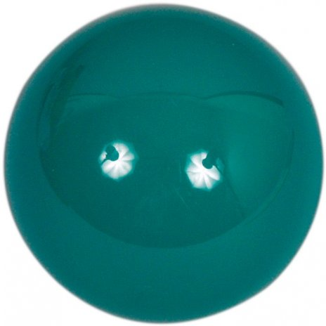 Samostatná guľa Aramith na snooker 52.4mm zelená