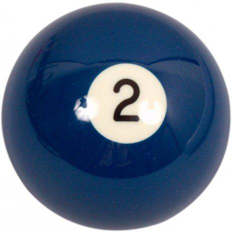 Biliardová guľa Aramith č.2 veľkosť 57.2mm