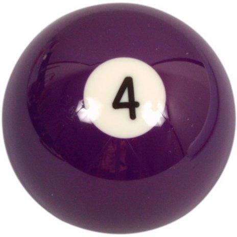 Biliardová guľa Aramith č.4 veľkosť 57.2mm