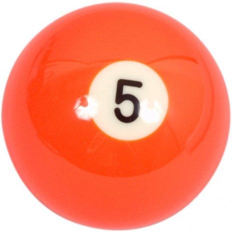 Biliardová guľa Aramith č.5 veľkosť 57.2mm