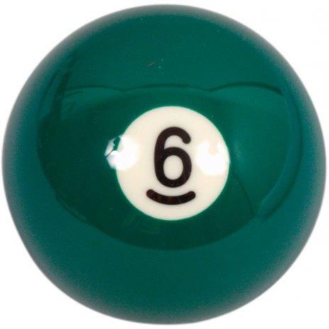 Biliardová guľa Aramith č.6 veľkosť 57.2mm