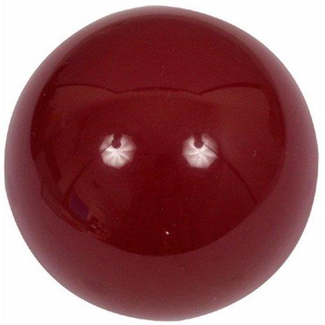 Samostatná guľa Aramith na karambol Dark Red 61.5mm