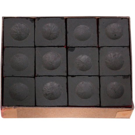 Biliardové kriedy Master čierne 12ks