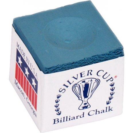 Biliardové kriedy Silver Cup 12ks Powder Blue