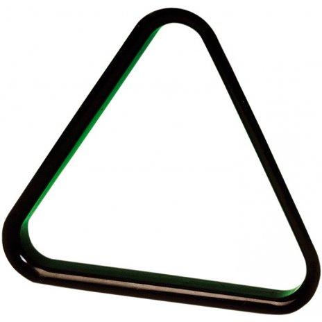 Plastový trojuholník na biliard čierny 50.8mm