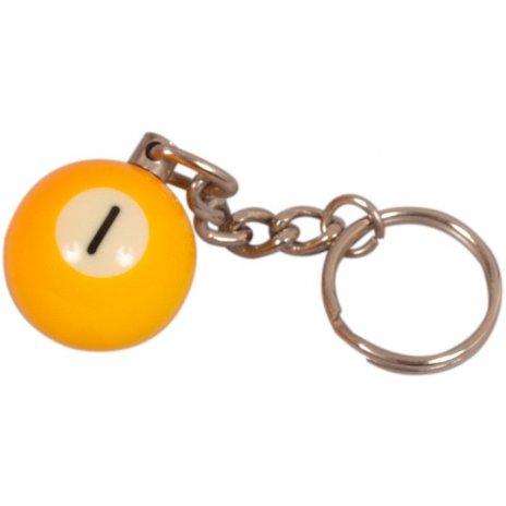 Prívesok biliardová guľa č. 1