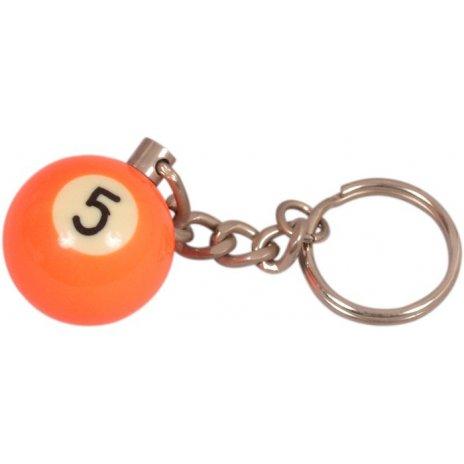 Prívesok biliardová guľa č. 5