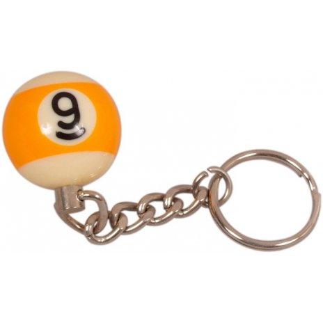 Prívesok biliardová guľa č. 9