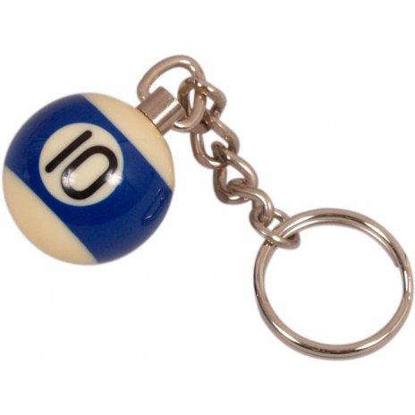 Prívesok biliardová guľa č. 10