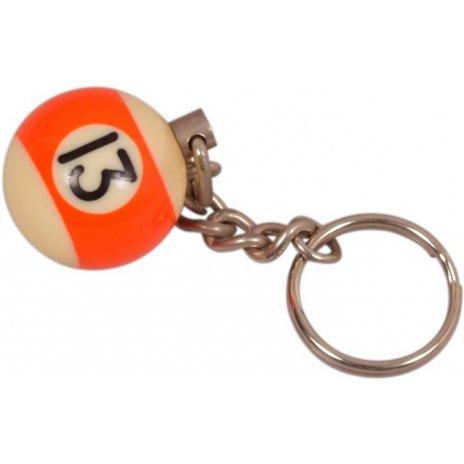 Prívesok biliardová guľa č. 13