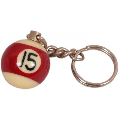 Prívesok biliardová guľa č. 15