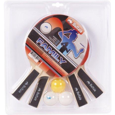 Set na stolný tenis BuffaloFamily4 rakety