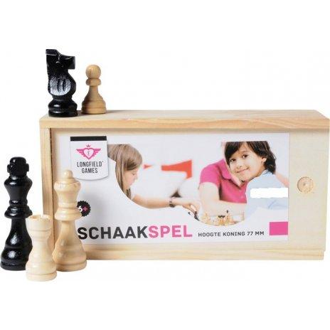 Longfield šachové figúrky Box 77mm
