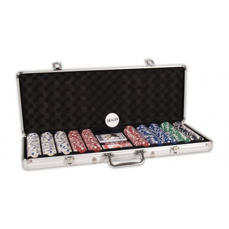 Pokrový kufrík DICE 500 žetónov 11.5gram
