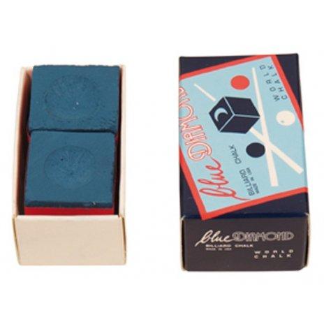 Biliardové kriedy Blue Diamond 2ks/box
