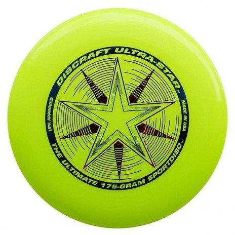 Frisbee Discraft Ultra Star Žltá 175g