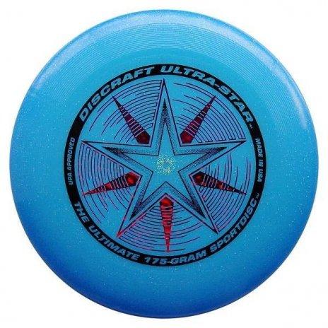 Frisbee Discraft Ultra Star Modrá Sparkle 175g