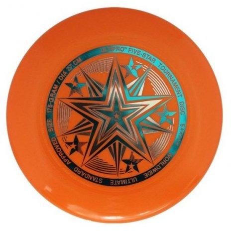 Frisbee UltiPro Five Star Oranžová 175g