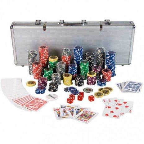 Poker set kufrík Ultimate 500 žetónov