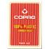 Pokrové karty COPAG PKJ JUMBO 100% plastové červené