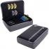 Púzdro na šípky ONE80 D Box, šedé/čierne